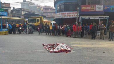 Photo of आँबुखैरेनीमा भएको दुर्घटनामा एकको मृत्यु, एक घाईते