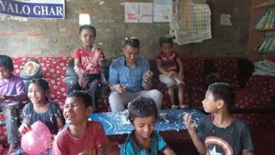 Photo of जन्मदिनमा बालगृहलाई खाद्यन्न सहयोग